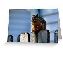 I'm undertall...not over weight.  Greeting Card