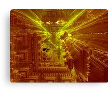 Inside The Alien Space Station Canvas Print