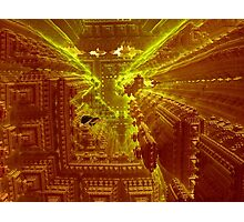 Inside The Alien Space Station Photographic Print
