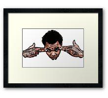 Kevin Gates BANG Framed Print