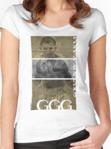 "Gennady ""GGG"" Golovkin Women's Fitted Scoop T-Shirt"