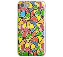 Abstruct Flowers by Nikki Ellina  iPhone Case/Skin