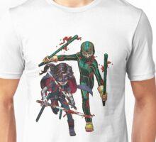 Kick-Ass and Hitgirl Unisex T-Shirt