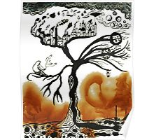 dying tree of life Poster