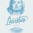L'avventura Movie Poster by Simon Gentleman