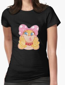 Wendy O. Koopa Cute Womens Fitted T-Shirt