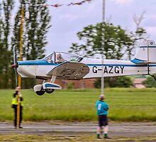 Rousseau CP-301B Emeraude G-AZGY by Colin Smedley