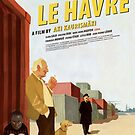 Le Havre Movie Poster by Simon Gentleman