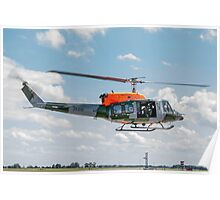 Bell 212EP AH.2 ZK206/A Poster