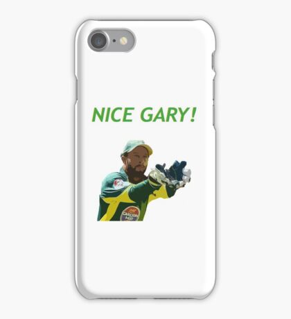 Nice Gary! - Matthew Wade Design iPhone Case/Skin