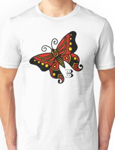 traditional butterfly Unisex T-Shirt