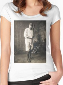 Yours Truly, Babe Ruth - NY Yankees Women's Fitted Scoop T-Shirt
