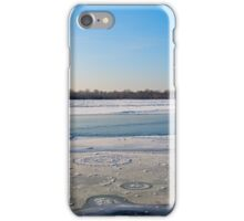 Frozen river iPhone Case/Skin
