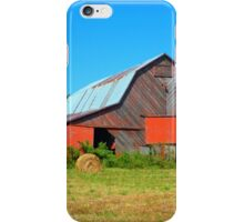 The Really Red Barn iPhone Case/Skin