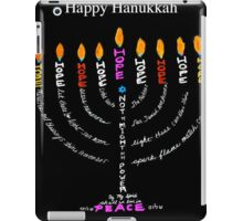 Happy Hanukkah Card iPad Case/Skin