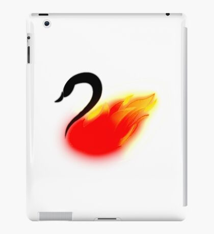 Once Upon a Swanfire iPad Case/Skin