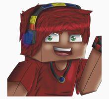 mrhuggles2 (Minecraft Style) One Piece - Short Sleeve