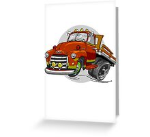 1950-GMC-1 Ton Stakebed Greeting Card