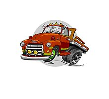 1950-GMC-1 Ton Stakebed Photographic Print