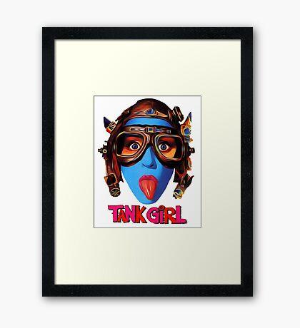Tank Girl Framed Print
