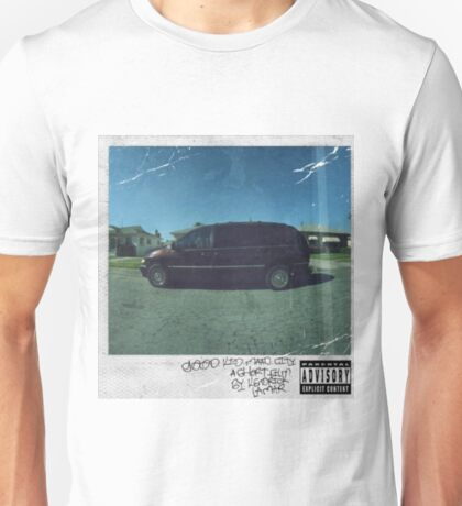 Kendrick Lamar - m.A.A.d city Album Cover Art Unisex T-Shirt