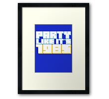 Party Like it's 1985 Framed Print