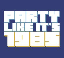 Party Like it's 1985 T-Shirt