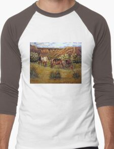 Up From The Canyons Men's Baseball ¾ T-Shirt