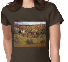 Up From The Canyons Womens Fitted T-Shirt