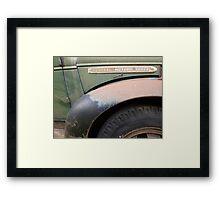GM TRUCKS Framed Print