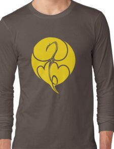 Iron Fist YELLOW Long Sleeve T-Shirt