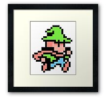 f//w - run from fire and ice Framed Print