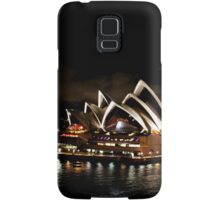 Opera House At Night Samsung Galaxy Case/Skin