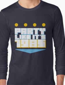 Party Like it's 1985 Crown Long Sleeve T-Shirt