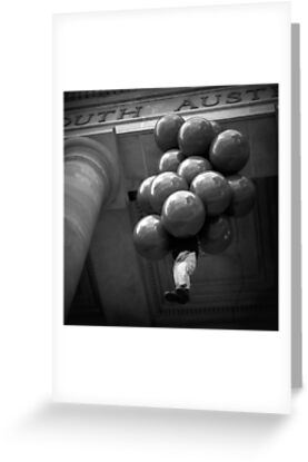 The Balloonist by Ben Loveday
