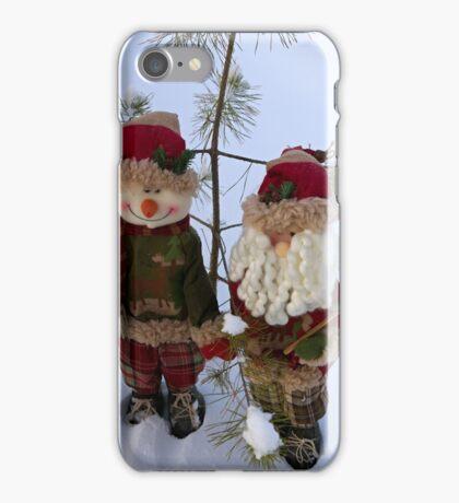 Christmas greetings iPhone Case/Skin