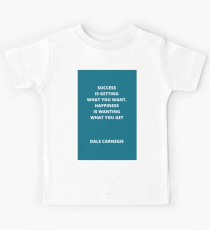 Success and Happiness Kids Tee