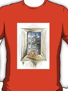 Halloween Night View T-Shirt