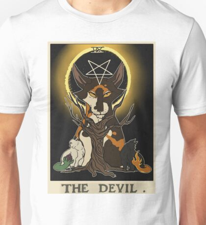 Warriors Tarot Series- The Devil Unisex T-Shirt