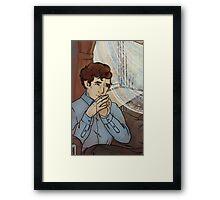 Doll Sherlock Framed Print