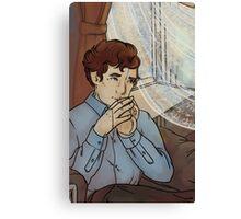 Doll Sherlock Canvas Print