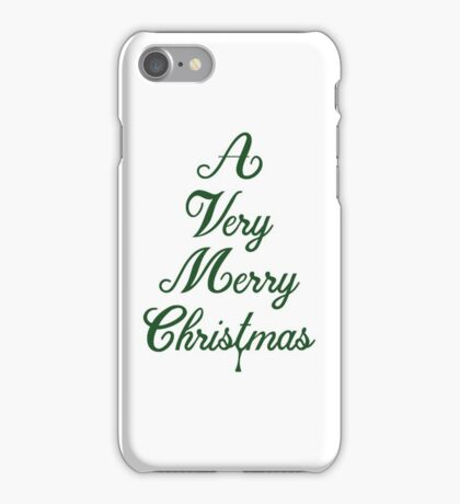 A Very Merry Christmas iPhone Case/Skin