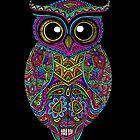 Skull Owl by ogfx