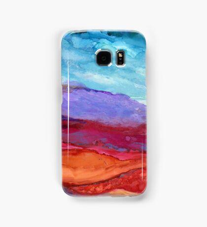 """Purple Mountain Majesty"" - Unique, Original Artist's Design! Samsung Galaxy Case/Skin"
