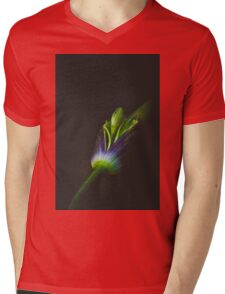 Vampire Agapanthus Mens V-Neck T-Shirt