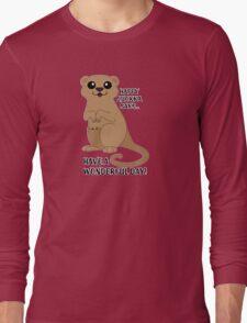 Happy Quokka Long Sleeve T-Shirt