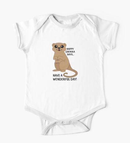 Happy Quokka One Piece - Short Sleeve
