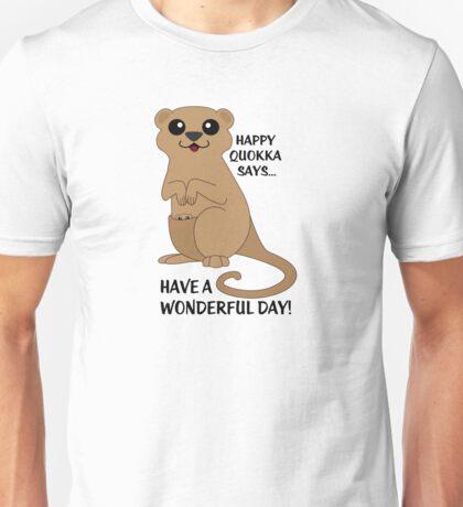 Happy Quokka Unisex T-Shirt