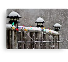 Just a Light Dusting Canvas Print
