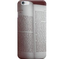 Reading on the Train iPhone Case/Skin